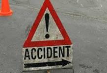 traffic mishap in Abbottabad