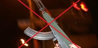 Aerial firing banned