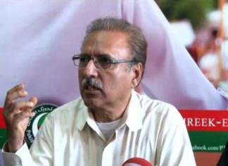PTI govt to focus on all parts of country for development: Alvi