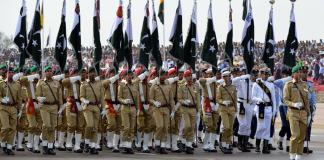 Military parade underway to mark 78th Pakistan Day