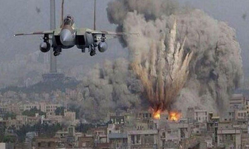Image result for Israeli jets hit Gaza Hamas positions after militants fire rockets