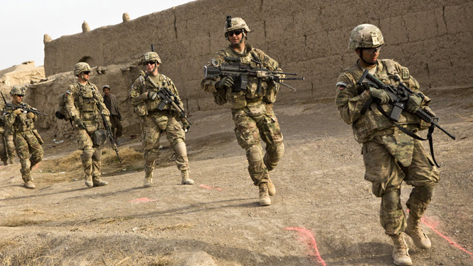 U.S. forces in Afghanistan