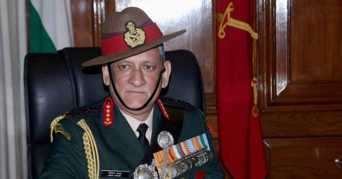 Peace, talks should be given chance in Kashmir: General Bipin Rawat