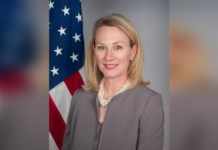 US diplomat Alice Wells to arrive in Pakistan today