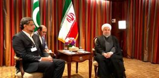 Khaqan Abbasi-Hassan Rouhani meeting
