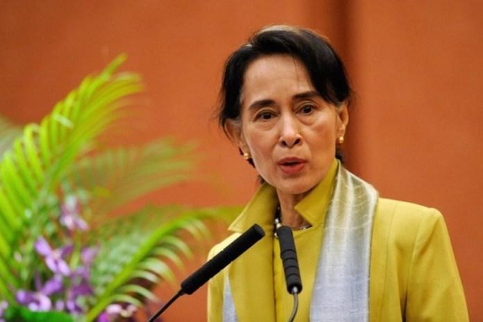 Myanmar's Suu Kyi meets Tillerson, UN chief on Rohingya crisis