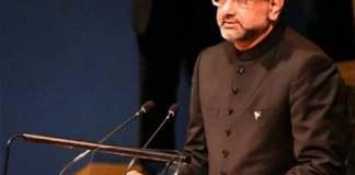 PM Khaqan Abbasi addressing at the UN General Assembly