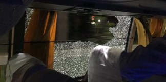 Australian team attacked in India