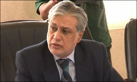Interior Ministry blacklists Ishaq Dar, blocks passport