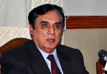 NAB chief Javed Iqbal