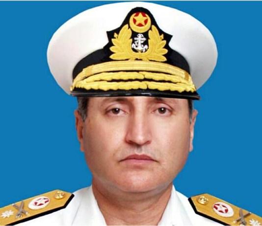 Navy Chief Zafar Mahmood