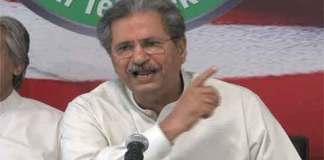 Shafqat Mehmood PTI