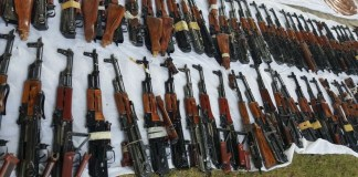 Arms smuggling bid foiled in Kohat
