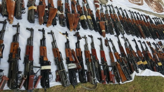 Arms recovered