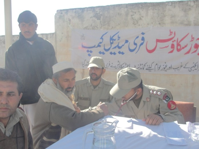Bajaur scouts free medical camp