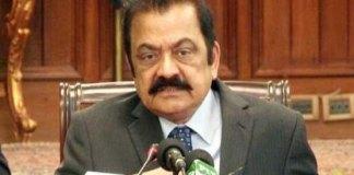 "CJP should take notice of Imran's ""wicket"" statement: Rana Sanaullah"