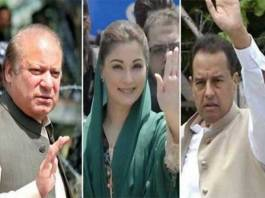 Nawaz, Maryam, Safdar appears before accountability court for hearinf of NAB references