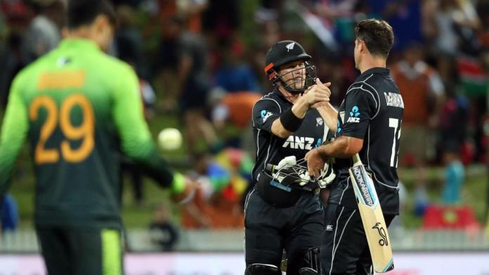 New Zealand whitewashes Pakistan in five-match ODI series