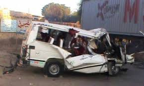 Four killed in road accident in Rajanpur