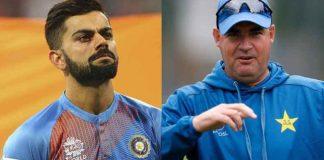 Pakistan's head coach Arthur challenges Virat Kohli