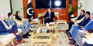 Strong Pak-US ties vital for defeating terrorism in region: Ahsan