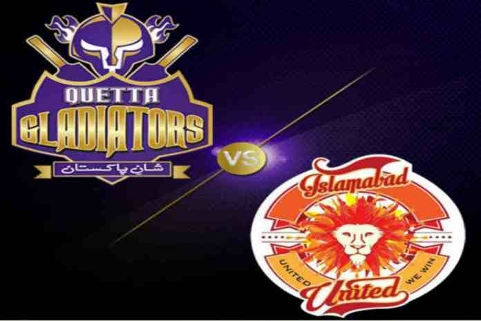 Islamabad United, Quetta Gladiators to lock horns in Sharjah tonight