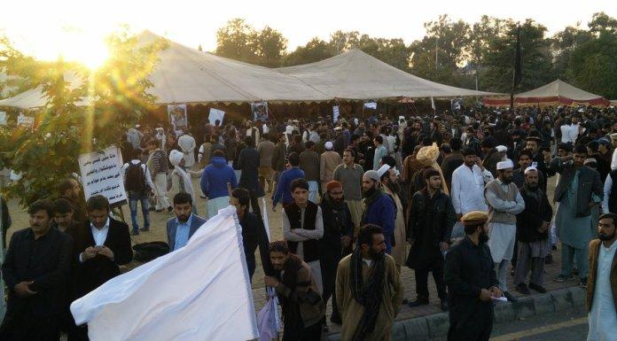 Naqeebullah protest