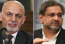 Afghan President Ghani invites PM Abbasi to visit Kabul