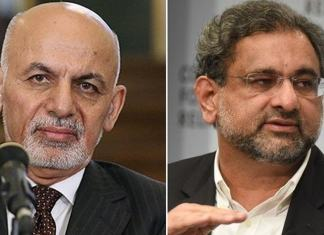 Afghan President Ghani invites PM Abbasi to visit Kabul