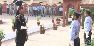 Change of guards ceremony held at Allama Iqbal mausoleum