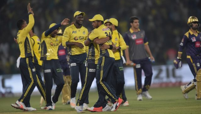 Peshawar Zalmi team arrives in Lahore for PSL playoff matches