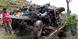 Nine killed as jeep falls into ditch in Azad Kashmir