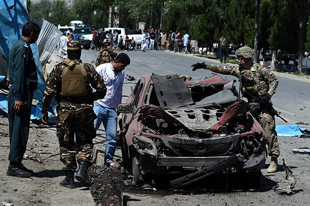 One killed, four injured in car bomb targeting foreign forces in Kabul