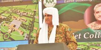 COAS stresses national commitment for development of Balochistan