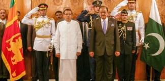 Pakistan, Sri Lanka agree to work together for regional peace