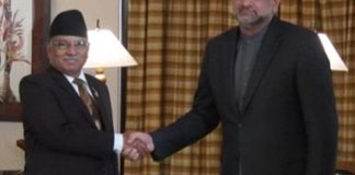 Former PM of Nepal, PM Abbasi agree to further extend cooperation