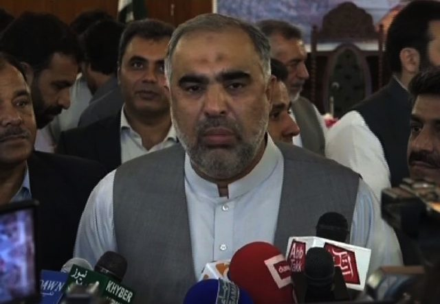 Uplift of tribal districts govt's top priority: Asad Qaiser
