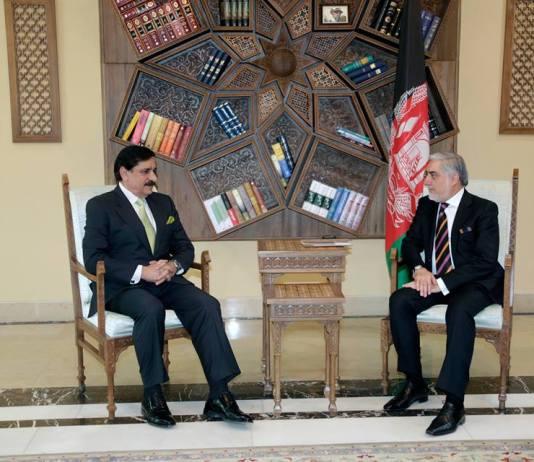 Janjua in Kabul, discusses bilateral relations with Abdullah Abdullah