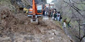 Three dead, six missing as landslide fall in Kohistan