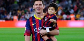 Papa Messi misses Barca match for birth of third son