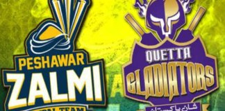 Gladiators defeat Zalmi by eight wickets