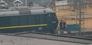 Train believed carrying North Korean delegation leaves Beijing
