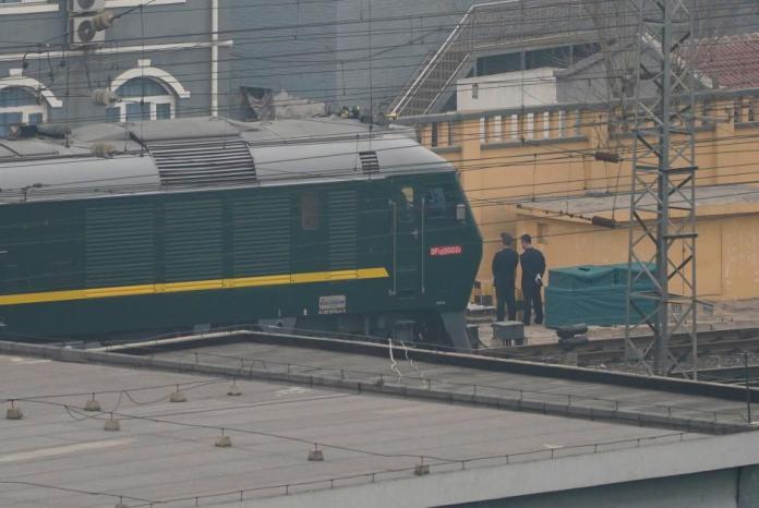 Train believed carrying North Korean delegation leaves Beijing