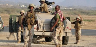 4 Saudi soldiers killed near Yemen border
