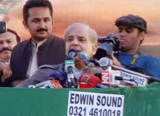 Imran Khan's politics revolves around lies, criticism against institutions: Shehbaz Sharif