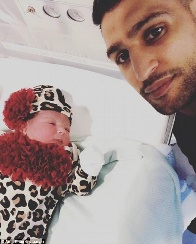 Amir Khan, Faryal welcome second baby girl