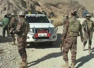 Five terrorists killed during security forces raid in Dera Bugti