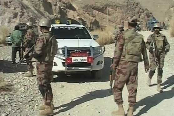 Four security personnel martyred in terrorist attack in Panjgur