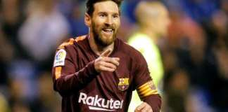 Messi hat-trick seals Barca's 25th title in style