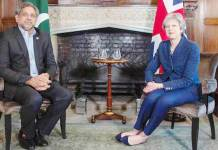 UK PM appreciates Pakistan's efforts in fighting terrorism